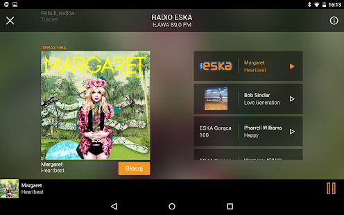 Radio ESKA - radio internetowe- screenshot thumbnail