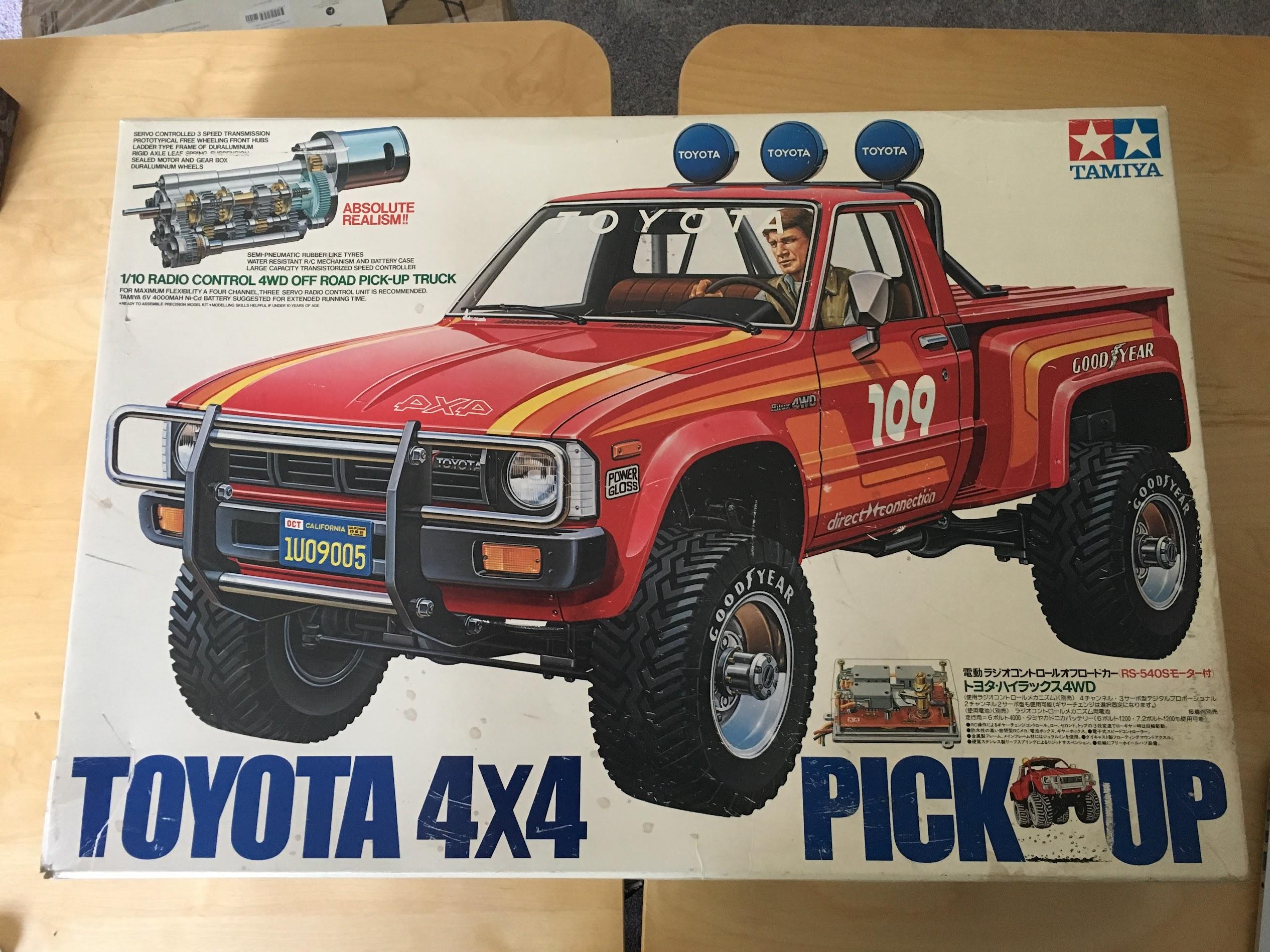 58028 Hilux Build - Vintage Tamiya Discussion - Tamiyaclub com