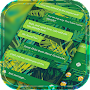 Palm Leaf Message SMS Theme 2018 APK icon
