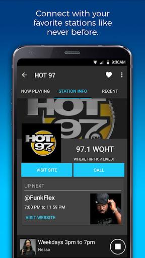 NextRadio Free Live FM Radio 5.0.2351-release screenshots 5