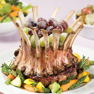 Emeril's Crown Roast of Lamb