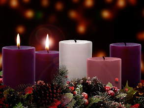Photo: Second Week of Advent ~ The Candle of Joy  Theme: JOY TO THE WORLD ~ Series: The Baby Who Changed The World ~ Message: He Confounds the World ~ Scripture: Luke 1:46–56 ESV; https://sites.google.com/site/biblicalinspiration1/biblical-inspiration-1-now-thank-we-all-our-god-changed-by-worship-the-moody-church/biblical-inspiration-1-o-come-o-come-emmanuel-series-the-baby-who-changed-the-world-message-he-redeems-the-world-the-moody-church/biblical-inspiration-1-joy-to-the-world-series-the-baby-who-changed-the-world-message-he-confounds-the-world-the-moody-church
