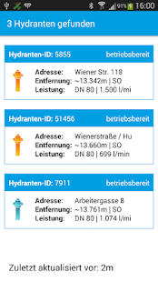 Hydrantenplan Screenshot