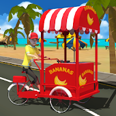 Beach Banana Delivery 3D
