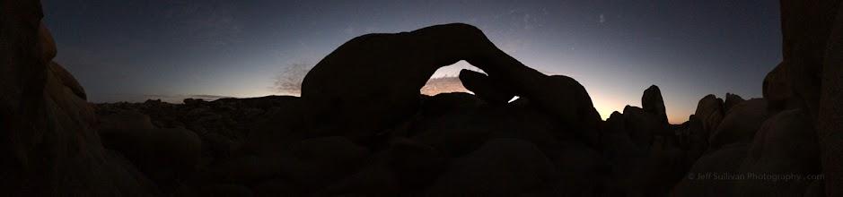 Photo: Arch at dawn