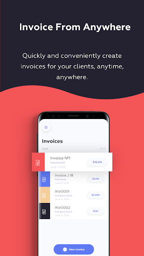 Invoice Mini Business app for Android Preview 1