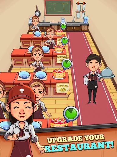 Idle Cook Tycoon: un simulador de gerente de cocina capturas de pantalla 7