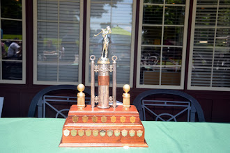Photo: The fabulous trophy, recently refurbished through Steve Moons' diligence