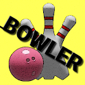 Bowler - Simple bowling game from Black & Pink icon