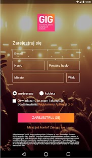 GIG Polska- screenshot thumbnail