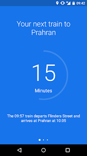Go - Melbourne Train Timetable- screenshot thumbnail