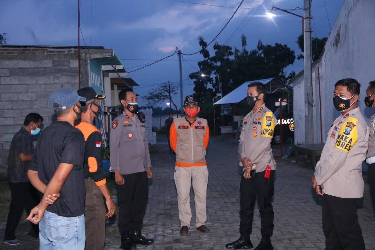 Kapolres Madiun, Berkah Dari Kampung Tangguh Semeru Sekarang Sudah Zona Orenge