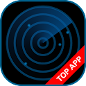 Police Radar Scanner simulated icon