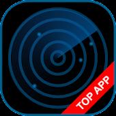 Police Radar Scanner simulated