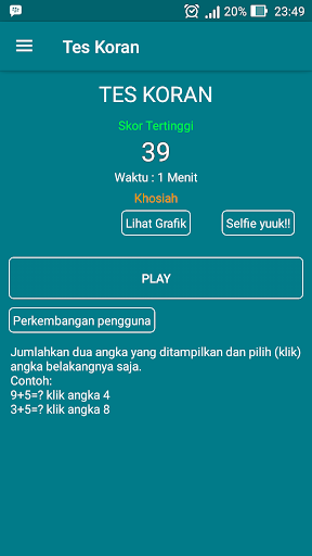 Tes Koran 3.5 screenshots 1