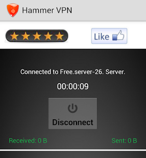 Hammer VPN  AntiDPI VPN- screenshot thumbnail