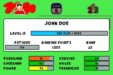 Tennis Sim Manager (no Ads)  de.gamequotes.net 2