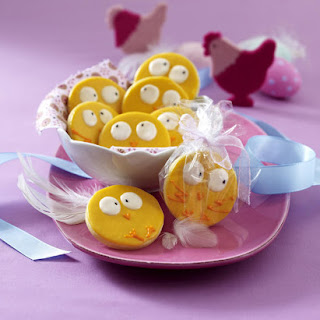 Easter Chick Cookies
