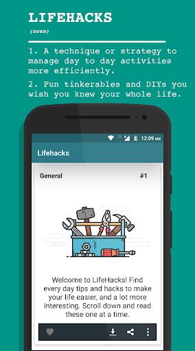 Life Hacks v3.9.1 screenshots 1