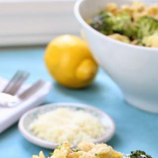 Broccoli Pasta Salad with Almond Pesto