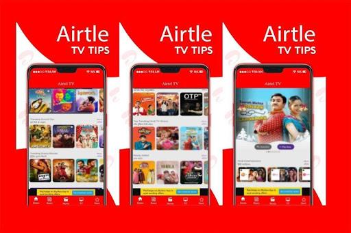 Free Airtel TV HD Channels Guide screenshot 1