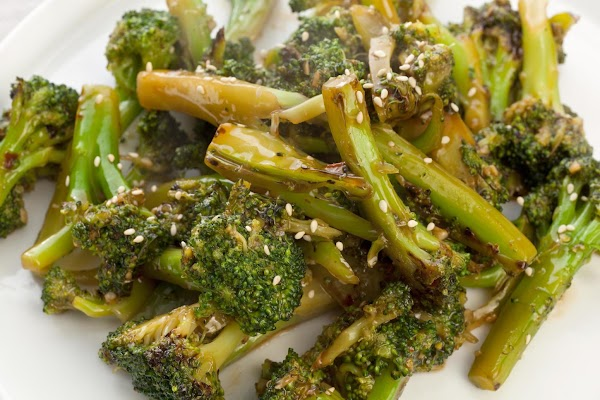 Ellen's Steamed Asian Broccoli Recipe