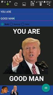 Meme Creator v1.0 - náhled