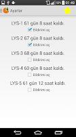 Screenshot of Birebir YGS LYS Hesaplama