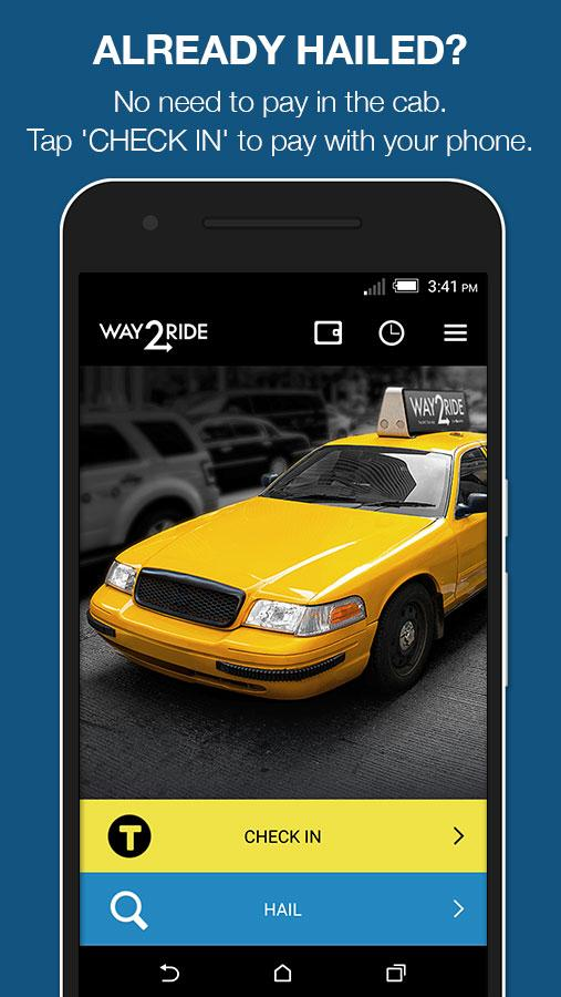 Way2ride- screenshot