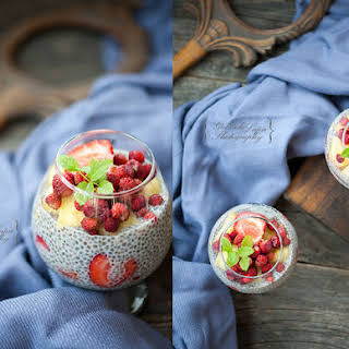 Summer Chia Seeds Pudding.