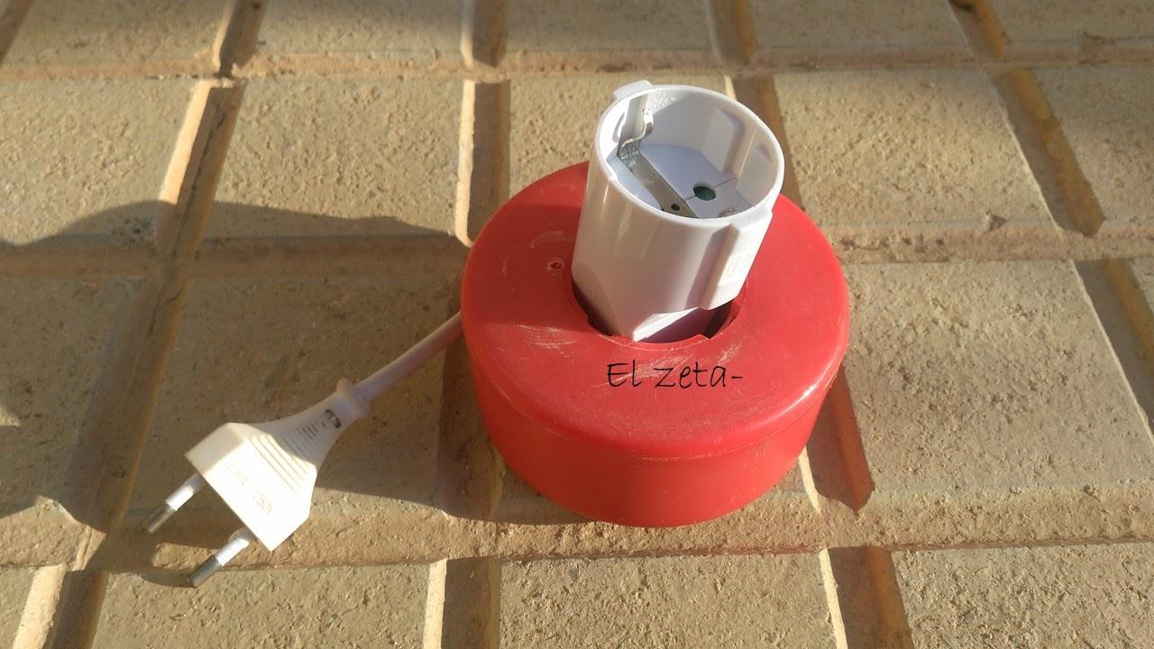 El zeta c mo hacer un alargador el ctrico for Alargador de corriente