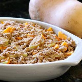 Vegetarian Butternut Squash Casserole.