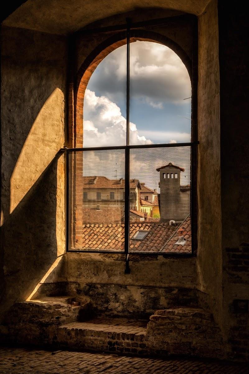 Nuvole su Vigevano di Sergio Locatelli