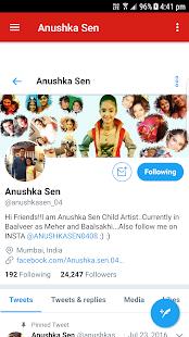 Anushka Sen App - náhled