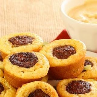 Mini Chorizo Corn Muffins