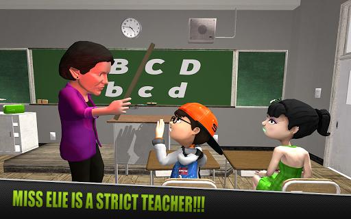 Code Triche Crazy Scary Teacher - Scary High School Teacher APK MOD (Astuce) screenshots 1