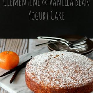 Clementine Vanilla Bean Yogurt Cake