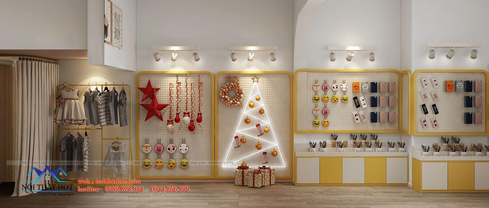 thiết kế cửa hàng lưu niệm tại lò đúc 6
