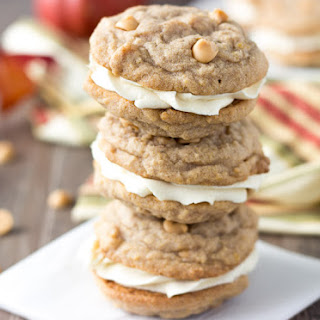 Pumpkin Butterscotch Cookie Sandwiches.