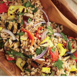 Grilled Vegetables And Farro