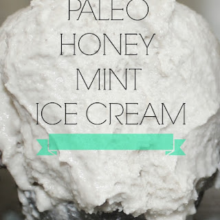 Paleo Honey Mint Ice Cream {also GAPS}