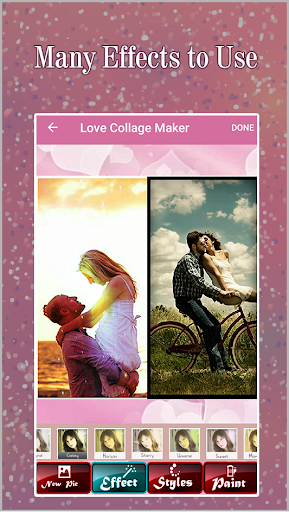 Love Collage Maker- Romantic Couple Collage Maker 1.07 screenshots 1