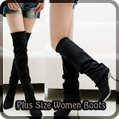 Plus Size Women Boots