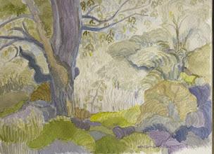 Photo: 2011 The Enchanted Garden Watercolor