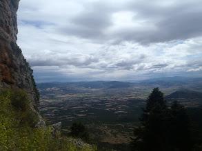 Photo: Θέα από τη Μαύρη Τρούπα προς τον Ευβοϊκό