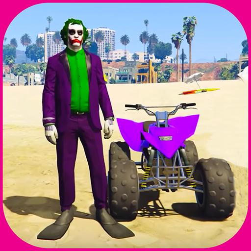 Baixar Quads Superheroes Stunts Racing para Android