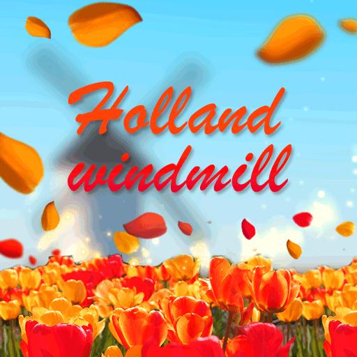 Autumn Holland Windmill
