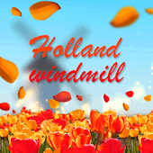 Autumn Holland Windmill