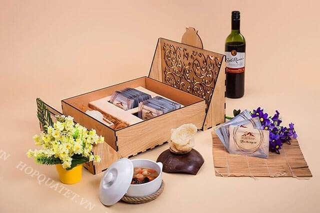 Cách gói hộp quà tết yến sào