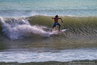 Photo: Nice wave and reading the wave